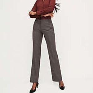 Ann Taylor Classic Trouser - Sharkskin - Size 14